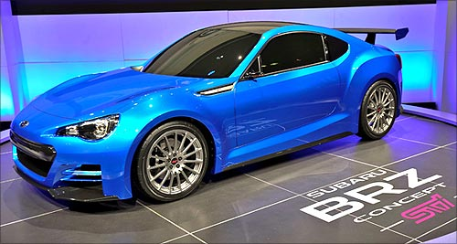 Subaru BRZ Concept.
