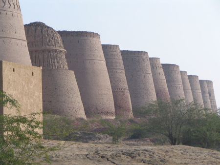 Derawer Fort at Cholistan Desert in Pakistan