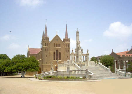 St Patrick's Cathedral in Karachi.