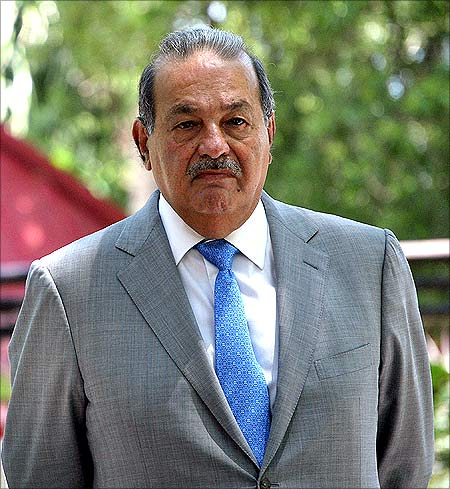 Carlos Slim Helu.