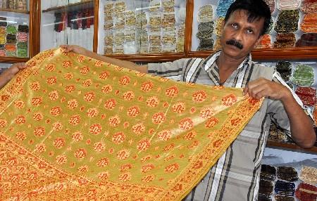 banana making sarees