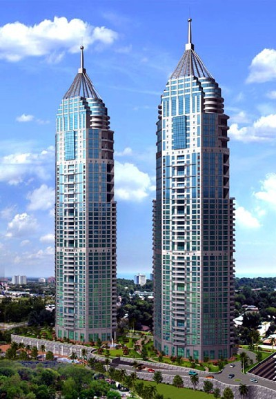 Shapoorji Pallonji's The Imperial Tower - Mumbai's tallest residential complex.