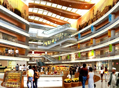 Shapoorji Pallonji's retail property in Vadodara.