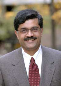 Dr Venkatram Ramaswamy, Hallman Fellow of Electronic Business and Professor of Marketing at the Ross School of Business, University of Michigan, Ann Arbor, USA.