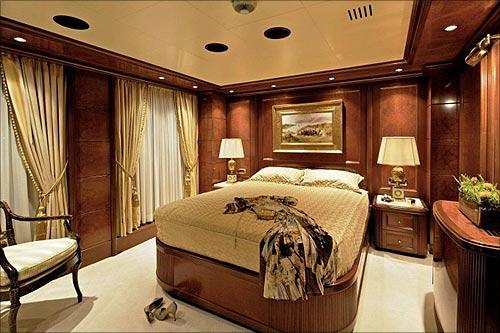 Omega VIP cabin.