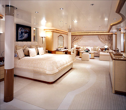 Cabin In The Luxury Yacht