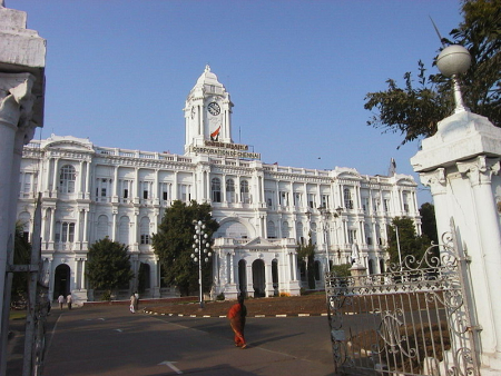Chennai Corporation Building,
