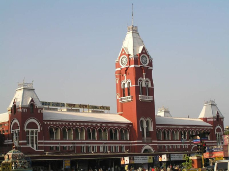 Chennai Central railway station.