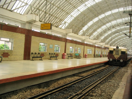 Chintadripet Metro Station in Chennai.