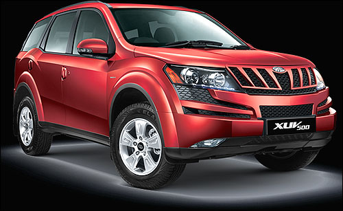 The new Mahindra XUV-500