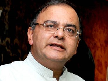 Bharatiya Janata Party leader Arun Jaitley.