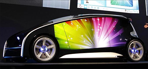 Toyota's concept vehicle Fun-Vii.