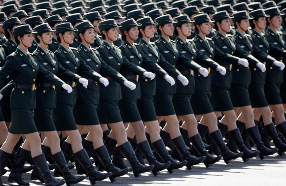 The PLA is the world's largest military force.