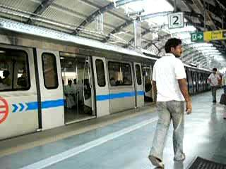 Around 1.7 million commuters use Delhi's Metro daily.