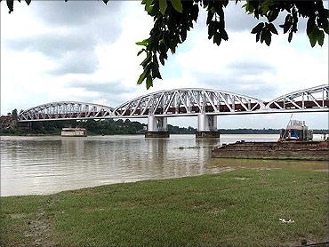 Jubilee Bridge.
