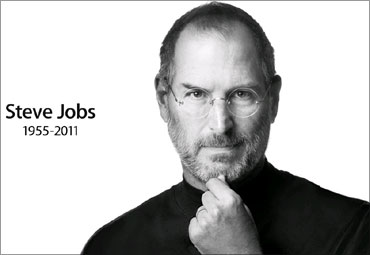 Steve Jobs, 56, died in California on Wednesday.