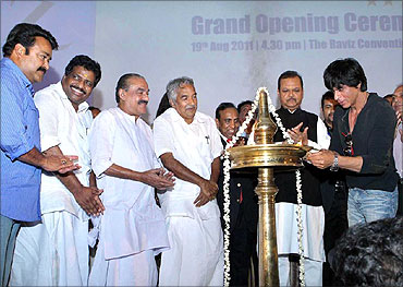 Inauguration of Hotel Raviz in Kollam.