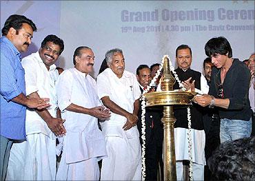 Inauguration of Hotel Raviz in Kollam.