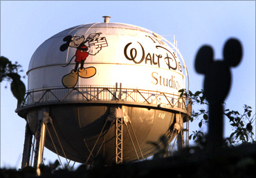 Water tower at The Walt Disney Co.