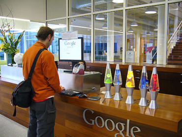 Google hosts and develops a number of Internet-based services.