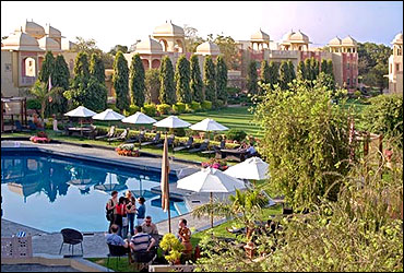 Heritage Village Resort and Spa Manesar.