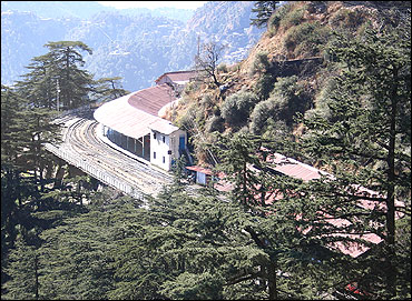 Shimla Railway Station.