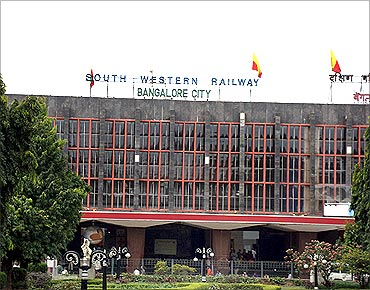Bengaluru city station.