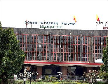Bengaluru city station.