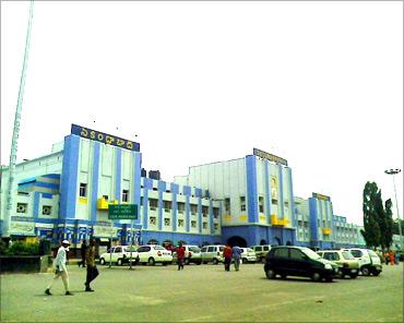 Secundarabad railway station.