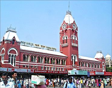 Chennai Central station.