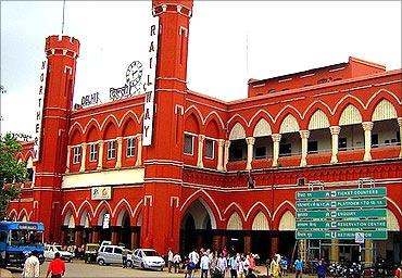 Old Delhi Railway Station.
