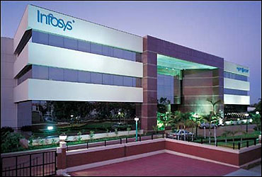 Infosys office.