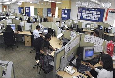 A BPO centre.