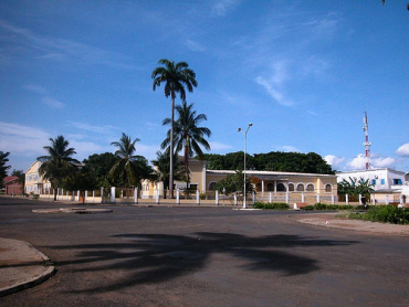A view of Sao Tome and Principe.
