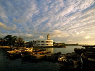 A view of Comoros.