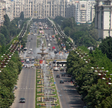 Bucharest, capital of Romania.