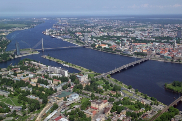 Riga, capital of Latvia.