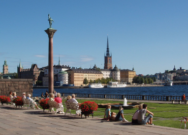 Stockholm, capital of Sweden.