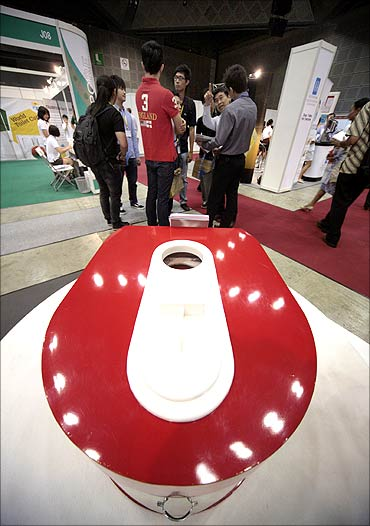 The bottom-of-the-pyramid Toilet System by Rigel.