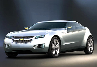 General Motors Volt concept car.
