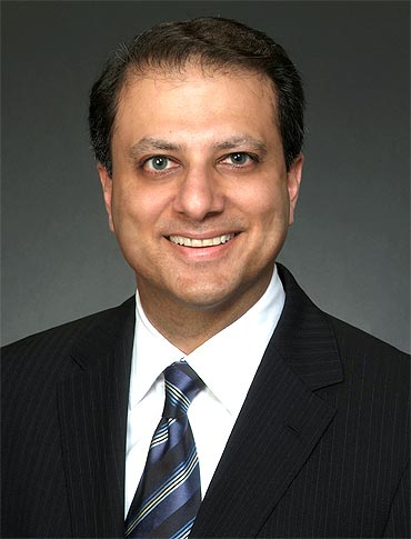 United States District Attorney Preet Bharara.