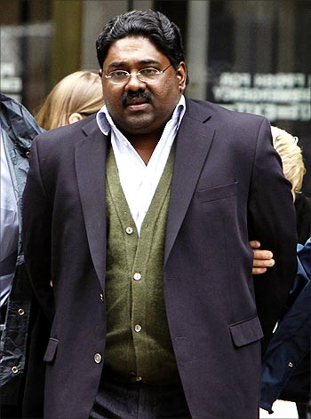Sri Lankan-born Galleon Group chief Raj Rajaratnam.