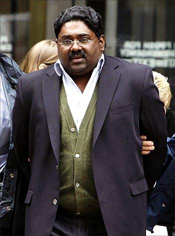 Sri Lankan-born Galleon Group chief Raj Rajaratnam.