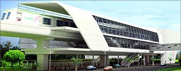 Mysore road terminal.