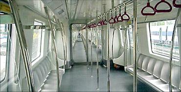 Metro rail coach.