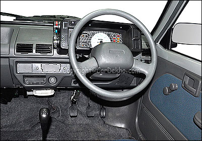 Interior view of M800.
