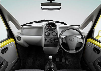 Interior view of Nano.