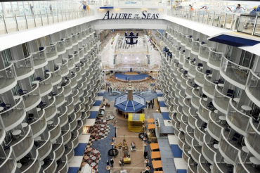 She holds the record for the largest passenger ship ever constructed.