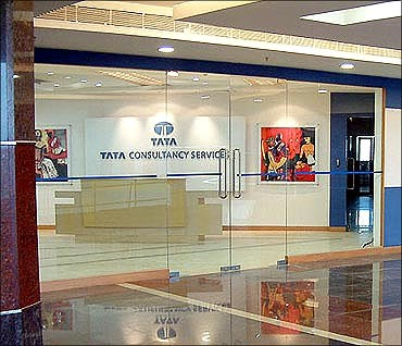 Tata Consultancy Services.