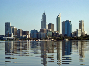 A view of Perth.